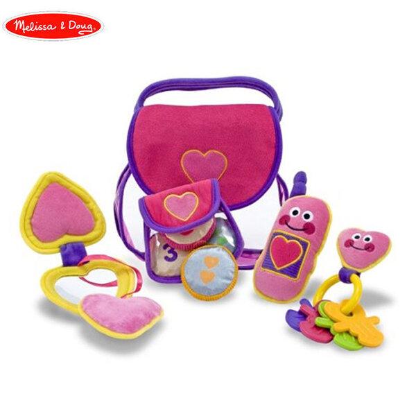 Melissa&Doug Детска плюшена чанта с аксесоари 13049