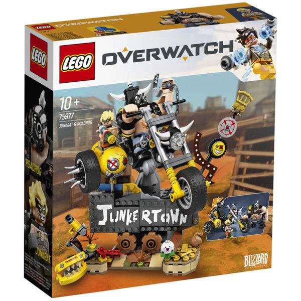 Lego 75977 Overwatch Junkrat & Roadhog