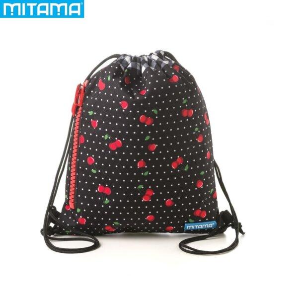 Mitama Спортна торба с цип Cherries 63349