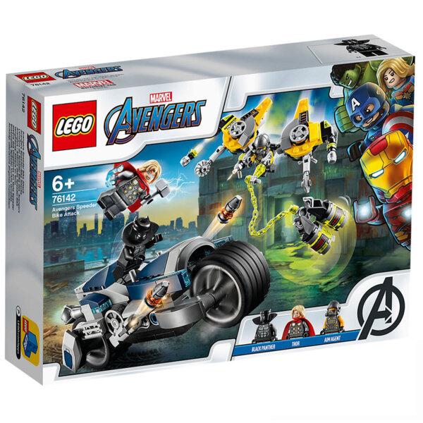 Lego 76142 Super Heroes Marvel Avengers Нападение с мотор на Отмъстителите