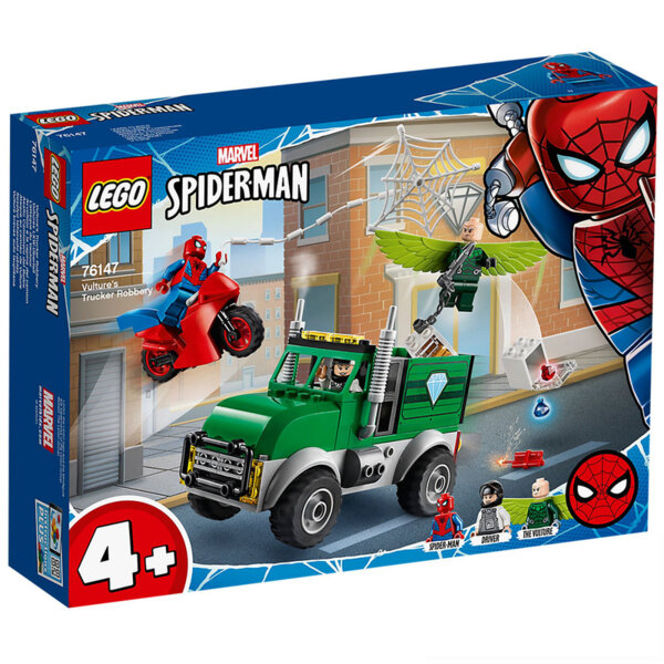 Lego 76147 Super Heroes Spider-Man Обир с камиона на Vulture