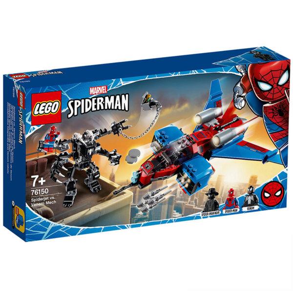 Lego 76150 Super Heroes Spider-Man Spiderjet vs. Venom Mech