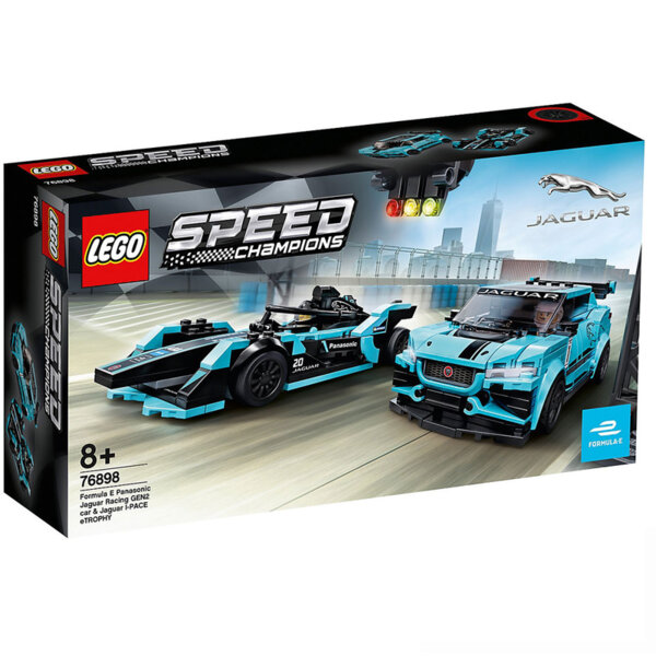 Lego 76898 Speed Champions Formula E Panasonic Jaguar Racing GEN2