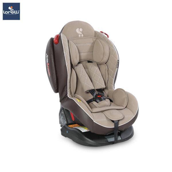 Lorelli - столче за кола ARTHUR ISOFIX BEIGE LEATHER 10071061839