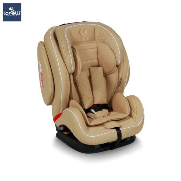Lorelli - Столче за кола MARS ISOFIX BEIGE LEATHER 10071071839