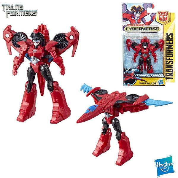 Transformers Cyberverse - Трансформърс екшън фигура 10см Windblade Class E1883