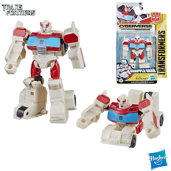 Transformers Cyberverse - Трансформърс екшън фигура 10см Ratchet Class E1883