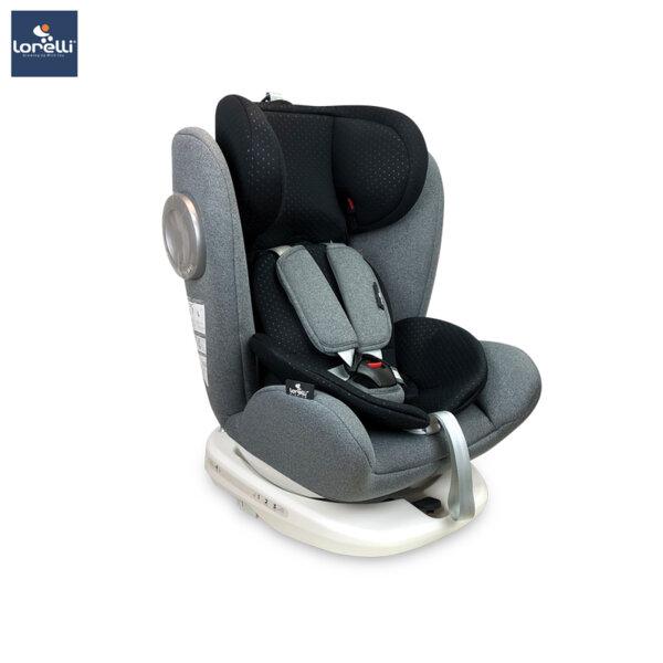 Lorelli - Столче за кола LUSSO SPS ISOFIX GREY 10071111907