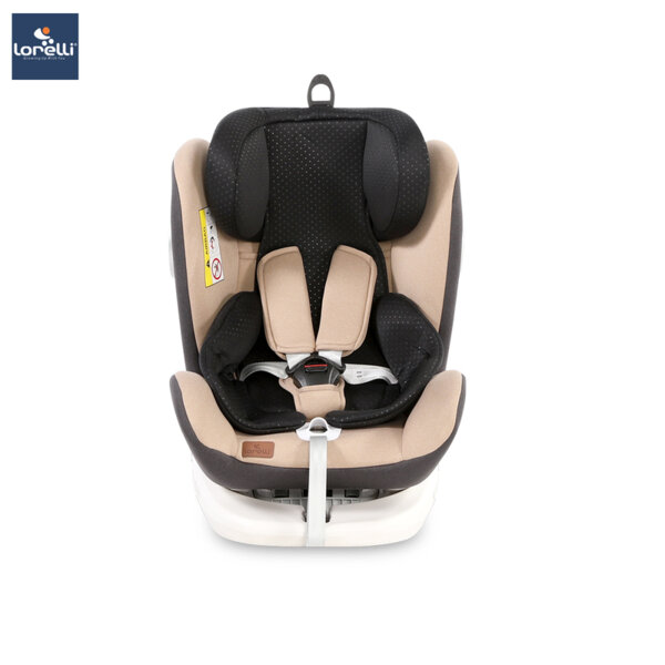 Lorelli - Столче за кола  LUSSO SPS ISOFIX BEIGE&BLACK 10071112017