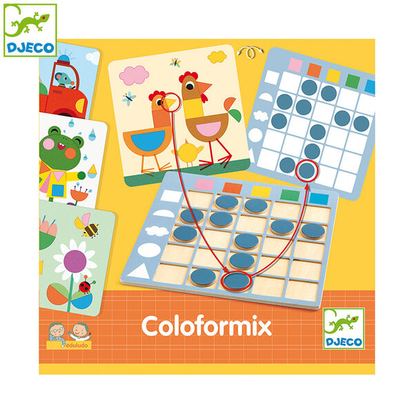 Djeco Детска образователна игра Coloformix DJ08351