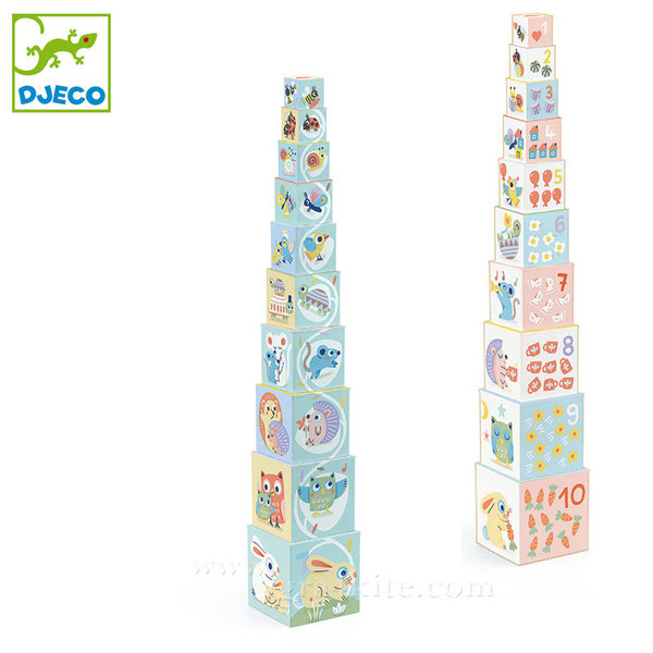 Djeco - Детски кубчета BabyBloki DJ06103