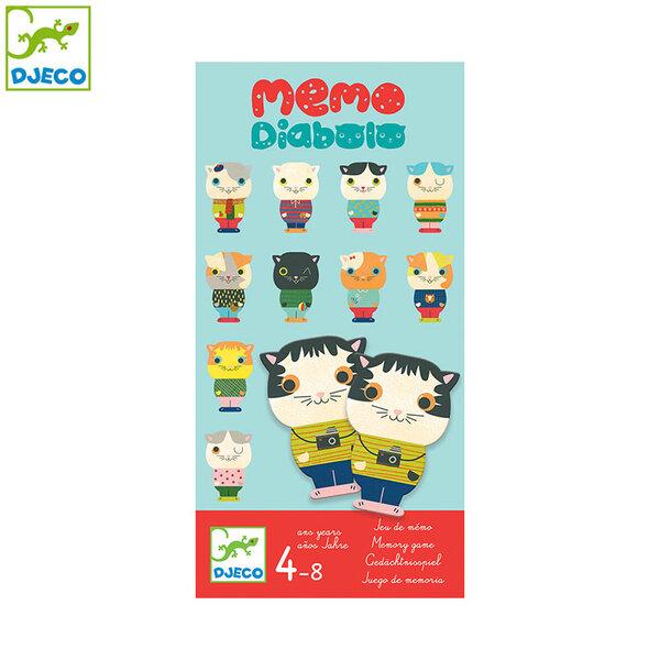 Djeco Детска игра Memo diabolo DJ08457