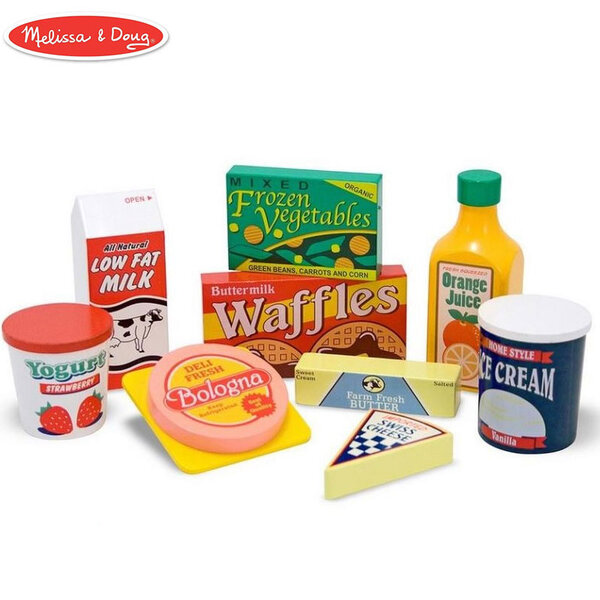 Melissa&Doug Дървени хранителни продукти за хладилник 14076