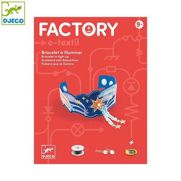 Djeco Factory Направи гривна с електричество Nova DJ09325