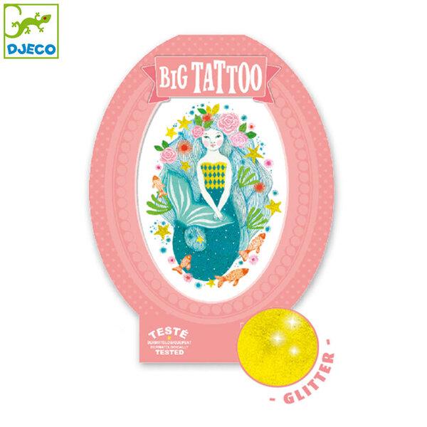 Djeco Детски татуировки Aqua blue DJ09600