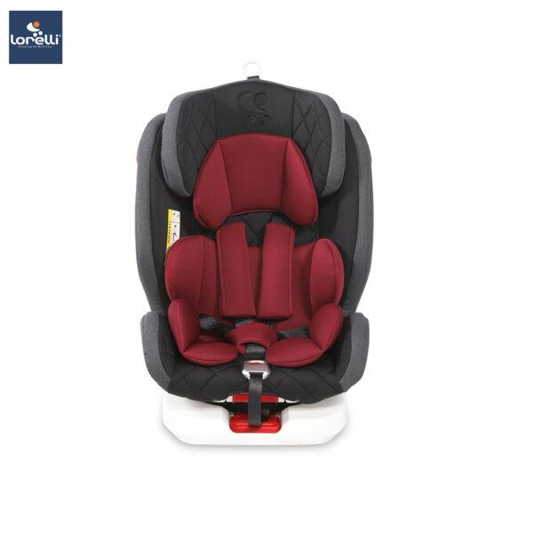 Lorelli - Столче за кола ROTO ISOFIX BLACK&RED 10071272002
