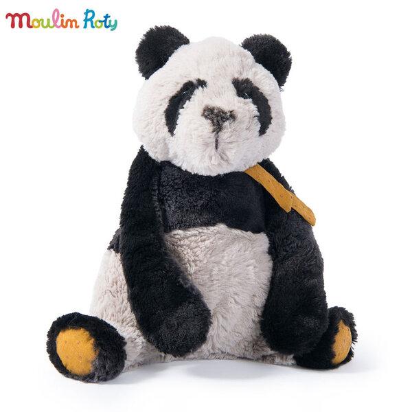 Moulin Roty Плюшена играчка Татко панда 34см 642717