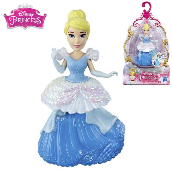 Disney Princess Мини кукла Пепеляшка Royal Clips Fashion E3049