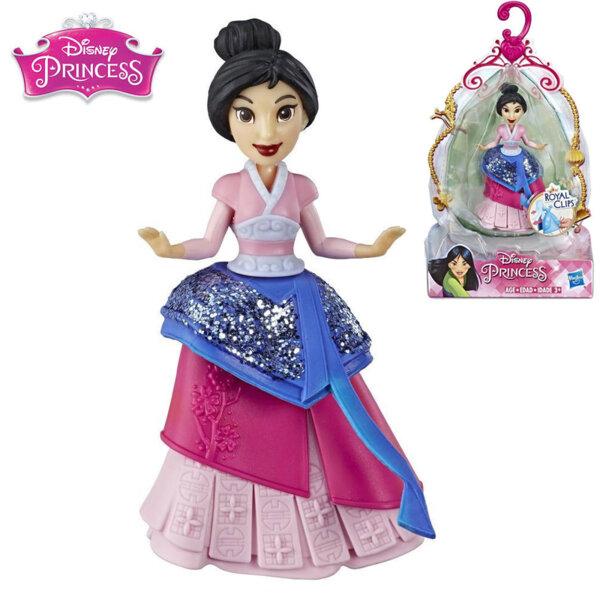 Disney Princess Мини кукла Мулан Royal Clips Fashion E3049