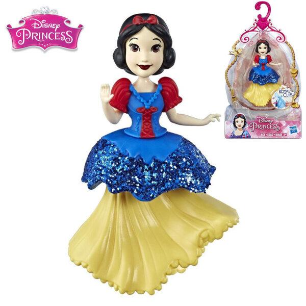 Disney Princess Мини кукла Снежанка Royal Clips Fashion E3049