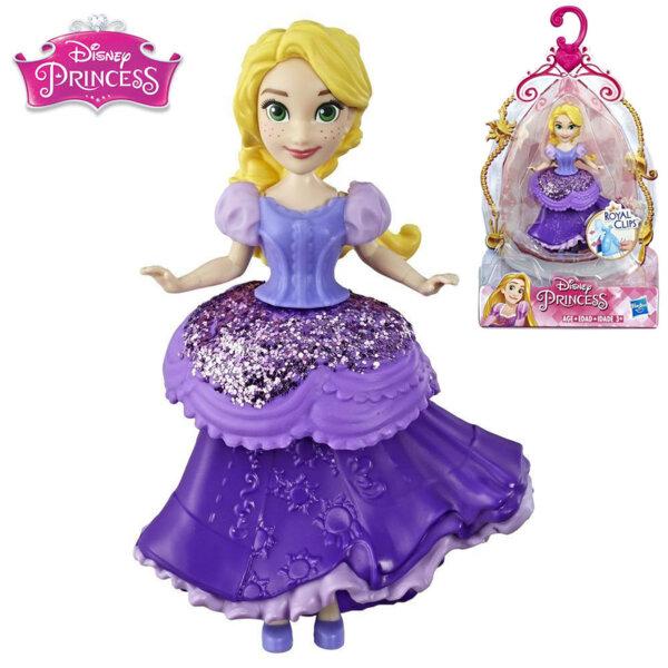 Disney Princess Мини кукла Рапунцел Royal Clips Fashion E3049
