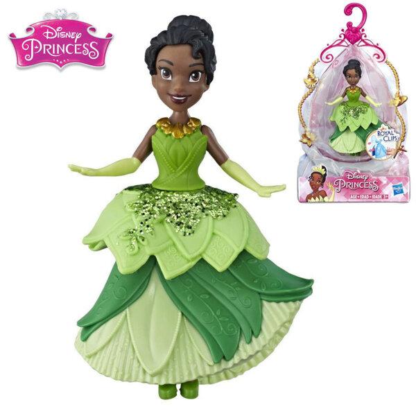 Disney Princess Мини кукла Тиана Royal Clips Fashion E3049