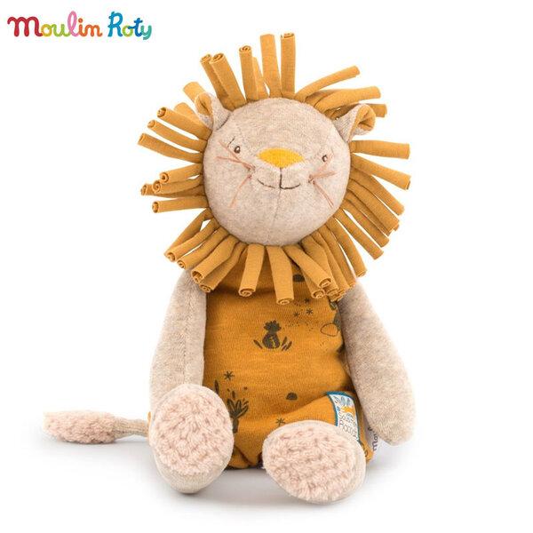 Moulin Roty Плюшен лъв Paprika the lion 39см 669020