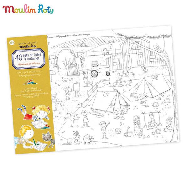 Moulin Roty Блокче за оцветяване и игри 713147