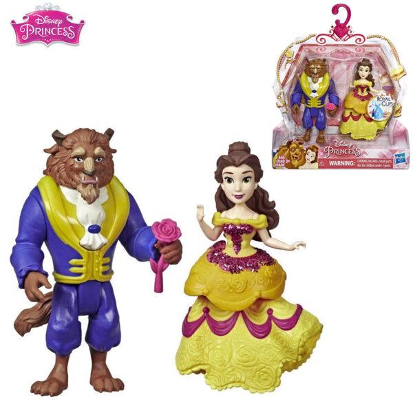 Disney Princess Комплект мини кукли Красавицата и Звяра Clips E3051