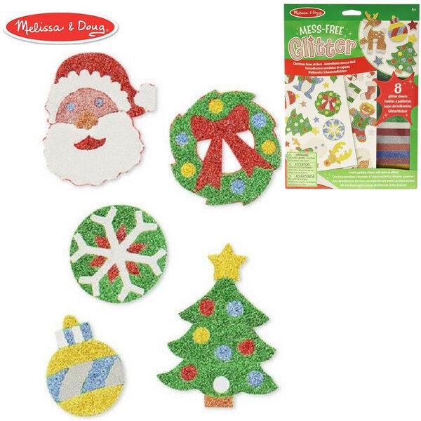 Melissa&Doug Комплект декорирай стикери Коледа 40002