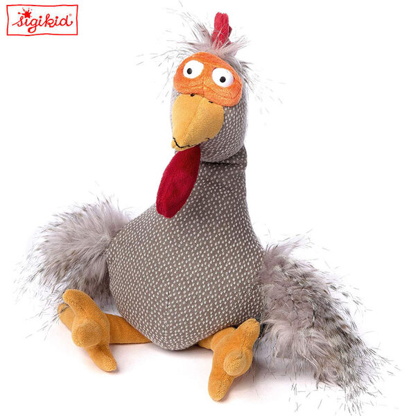 Sigikid Плюшено чудовище петела Chicken Checker 39081