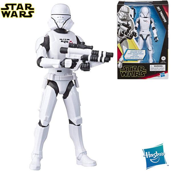 Star Wars Galaxy of Adventures Екшън фигура Стар Уорс Jet Trooper 14см e3016