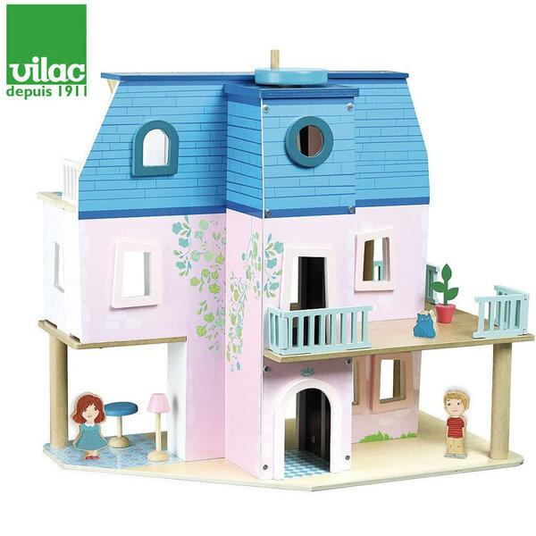 Vilac Дървена куклена къща 6316