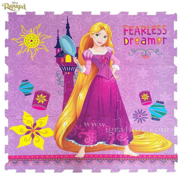 Disney Rapunzel - Мек килим - пъзел Рапунцел 1027-01234