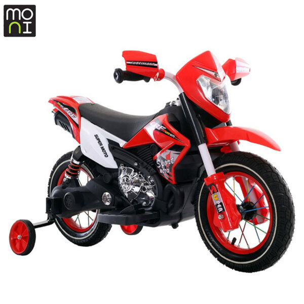 Moni Акумулаторен мотор Super moto FB-6186 червен 107321
