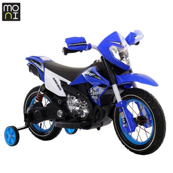 Moni Акумулаторен мотор Super moto FB-6186 син 107322