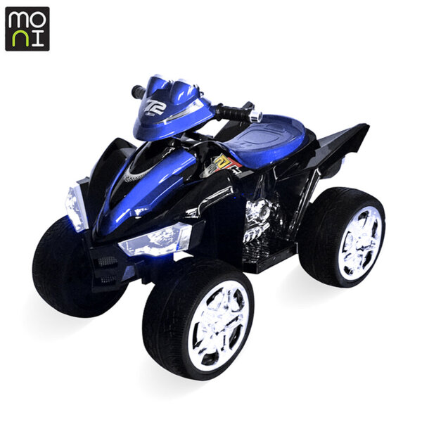 Moni Акумулаторно бъги Ready син металик 107545