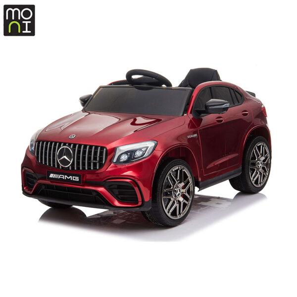 Moni Акумулаторен джип Mercedes AMG GLC63 S червен металик QLS-5688