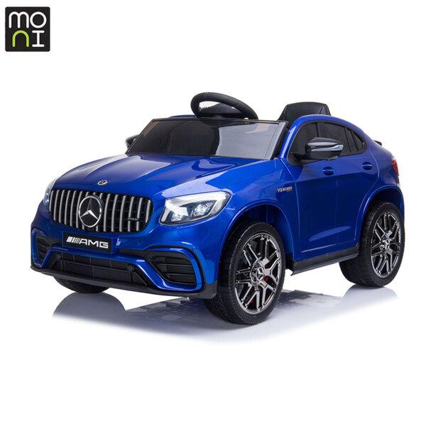 Moni Акумулаторен джип Mercedes AMG GLC63 S син металик QLS-5688