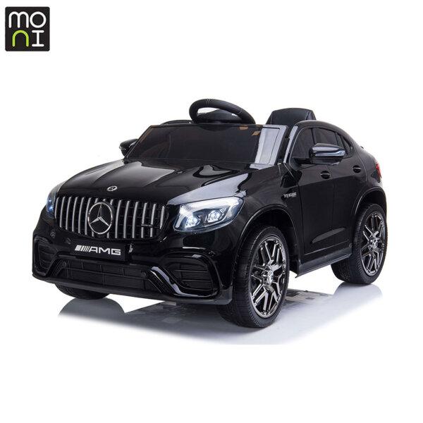 Moni Акумулаторен джип Mercedes AMG GLC63 S черен металик QLS-5688