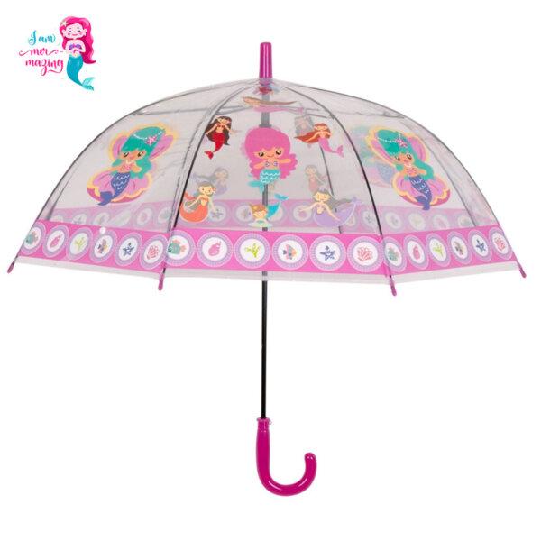 Детско чадърче Русалки 4915
