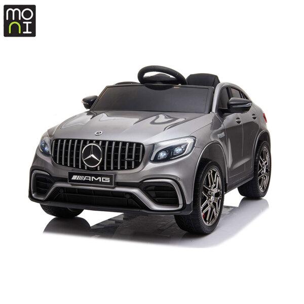 Moni Акумулаторен джип Mercedes AMG GLC63 S сребрист металик QLS-5688