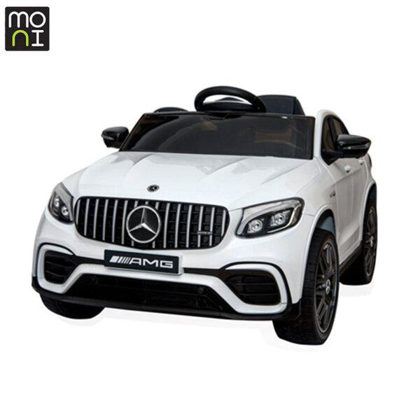 Moni Акумулаторен джип Mercedes AMG GLC63 S бял QLS-5688