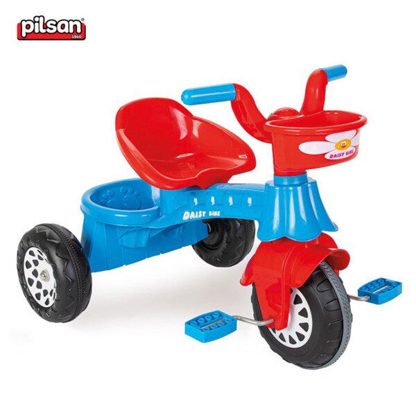Pilsan Детско моторче с педали Daisy син 104451