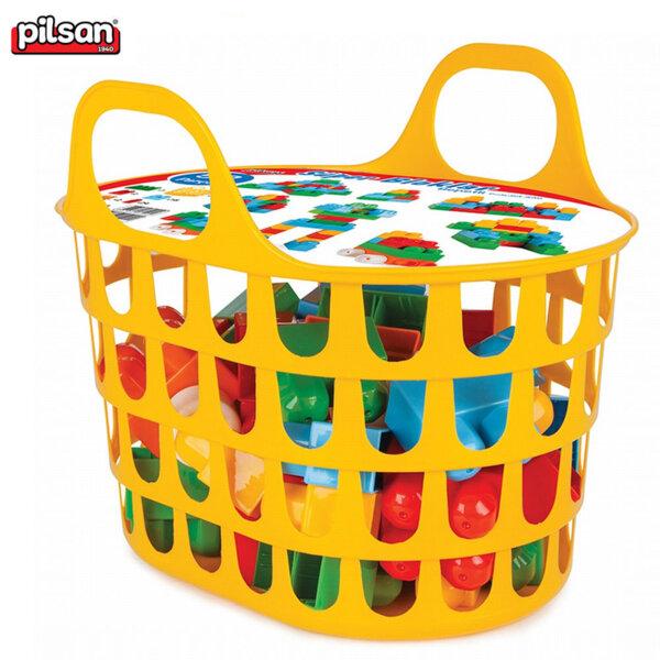 Pilsan Строител в кошница 52 части 03290