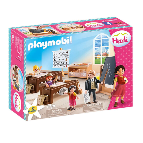 Playmobil Heidi Хайди Уроци в училището в Дорфли 70256