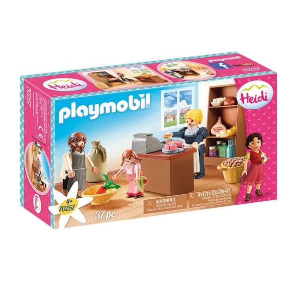 Playmobil Heidi Хайди Селския магазин на Келер 70257