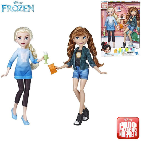 Disney Frozen Кукли Елза и Анна E7417