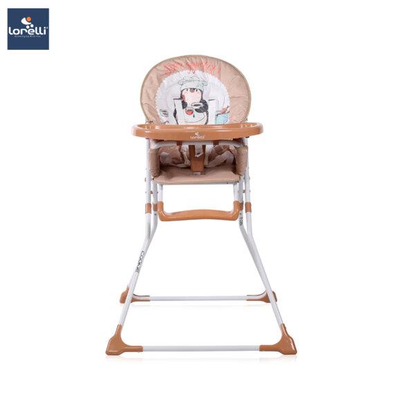 Lorelli - Столче за хранене COOKIE BEIGE PENGUIN 10100242033