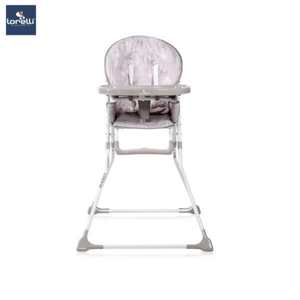 Lorelli - Столче за хранене COOKIE GREY DANDELIONS 10100242034
